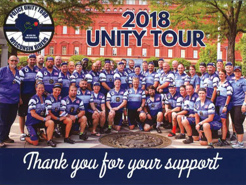 Wisconsin Riders - Police Unity Tour